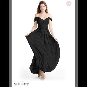 Azazie Kaitlynn Black size A2